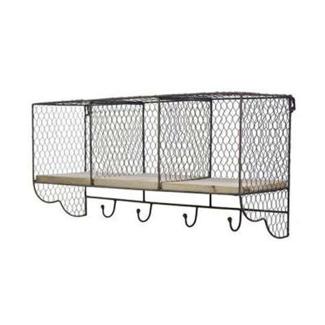 home decorators collection 11 in l metal ventilated wire