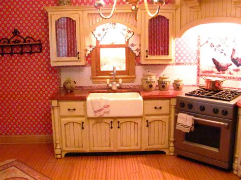 Miniature Dollhouse Kitchen Furniture Dollhouse Miniature Furniture Tutorials 1 Inch Minis Kitchen Cabinets How To Make