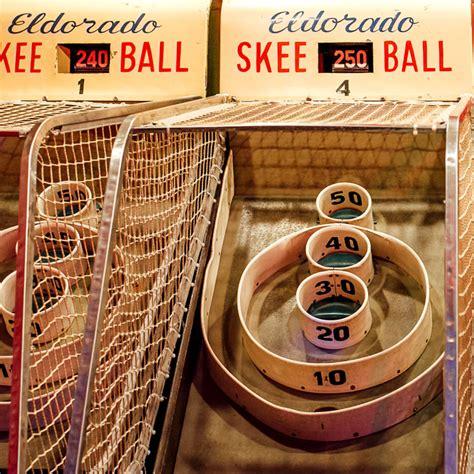skee ball skee ball silverball museum