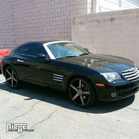 Chrysler Crossfire Tires by Chrysler Crossfire Milan M134 Gallery Mht Wheels Inc