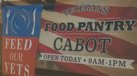 Food Pantry Cabot Ar by Central Arkansas Veteran Food Pantry Opens Its