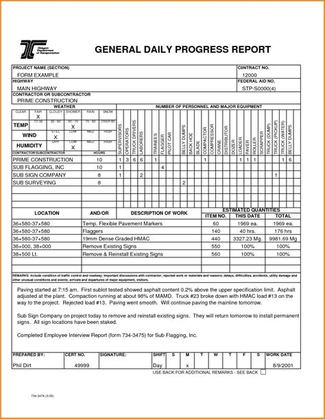 monthly status report template high quality templates