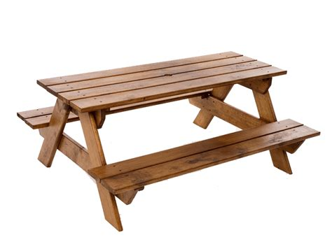childrens wooden bench party solutions table rentals