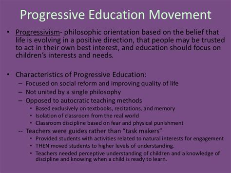 the new education a review of progressive educational movements of the day classic reprint books the progressive era of education
