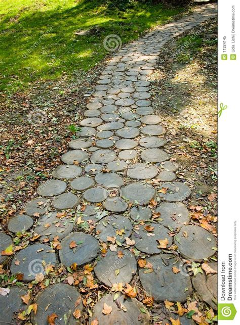 chemin en bois photo libre de droits image 11324145