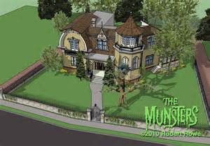 The House Location Dreams Come True The Munsters Bat S Eye View