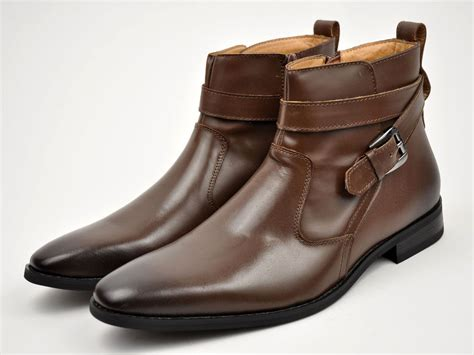 mens boots fall la mens brown genuine leather fall winter dress