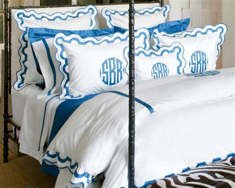 monogrammed coverlet monogram bedding find this pin and more on monograms