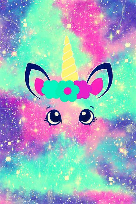 imagenes cool bonitas cotton candy unicorn galaxy iphone android wallpaper i
