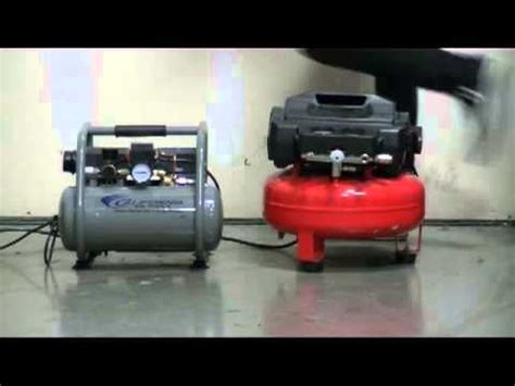 california air ultra compressor sound comparison presented by woodcraft