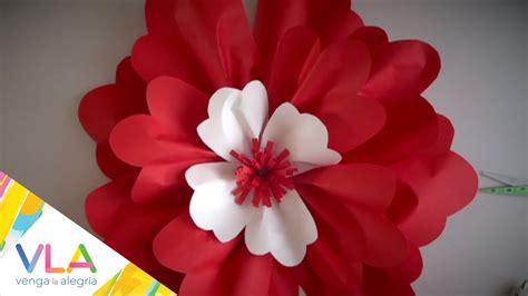 imagenes de flores gigantes flores gigantes de primavera en chuladas creativas youtube