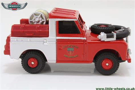 land rover corgi corgi cs90065 land rover series 2 city of bath fire