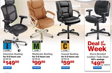 office furniture sale on chairs desks and more at office depot