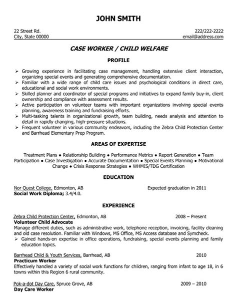 Child Welfare Social Worker Cover Letter by Child Welfare Worker Resume Template Premium Resume Sles Exle