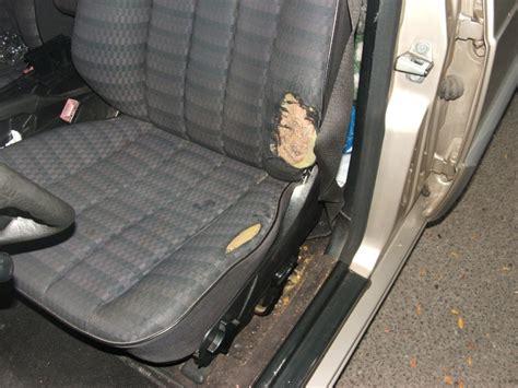 reparer trou de cigarette siege voiture comment reparer un siege de voiture