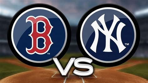 mlb new york yankees vs boston redsox game 1 youtube