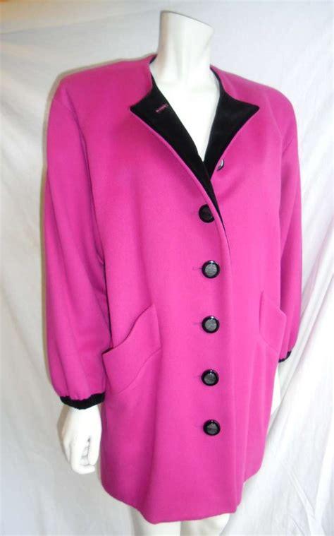 blackpink ysl yves saint laurent ysl statement pink black car coat for