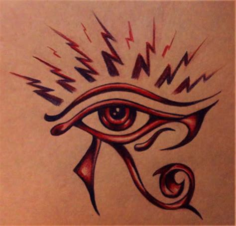 tattoo design eye horus beautiful eye of horus tattoo design tattooshunt com