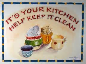 kitchen clean kitchen clean up quotes quotesgram