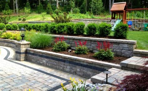 retaining wall to level backyard triyae com retaining wall to level backyard various