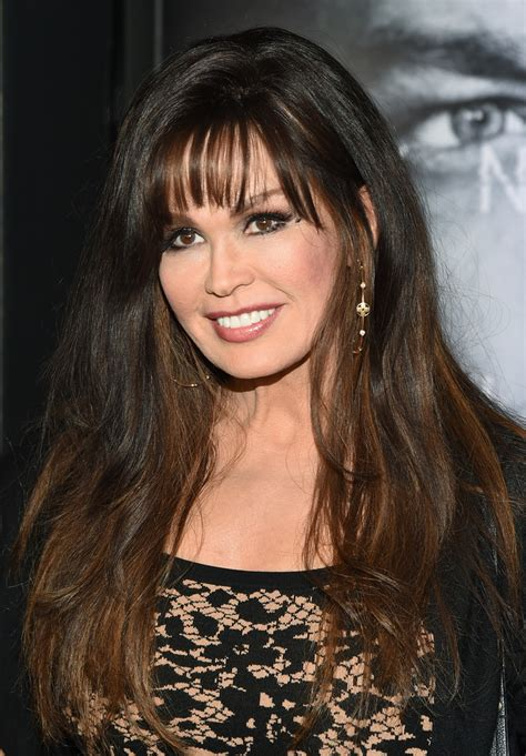 how to cut hair like marie osmond marie osmond long wavy cut with bangs long hairstyles