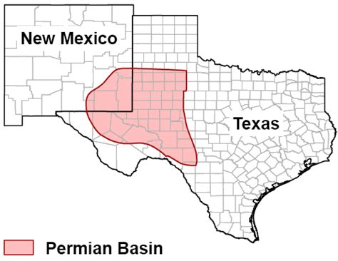 permian basin texas map saudi arabia is losing its war against shale the k2p