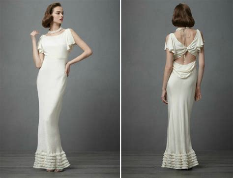 Brautkleider 30er Stil by Vintage Wedding Ideas 1930s Bridal Style Gowns Bhldn