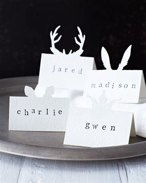 dinner name cards let s make diy place cards for the dinner table 7 how to