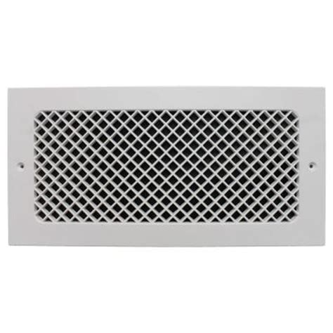 decorative wall return air grille smi ventilation products essex wall mount 6 in x 14 in