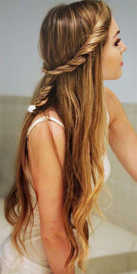 easy hairstyles for school tied up quelle coiffure facile cheveux long vous va et comment la