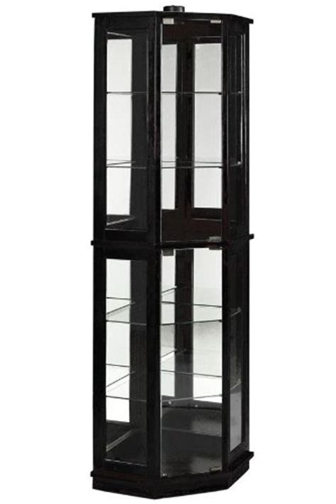 cheap hanley corner curio sale discount cabinets furniture