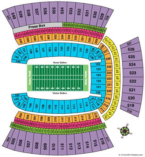 pittsburgh seating chart image gallery heinz field seating chart
