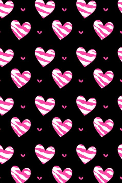 wallpaper iphone heart iphone love wallpaper pink hearts crocheting craft