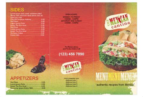 mexican food menu template restaurant menu template 48 free psd ai vector eps