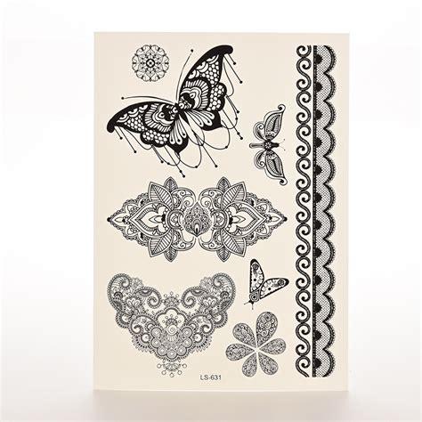 henna tattoo zwart witte vlinder koop goedkope witte vlinder