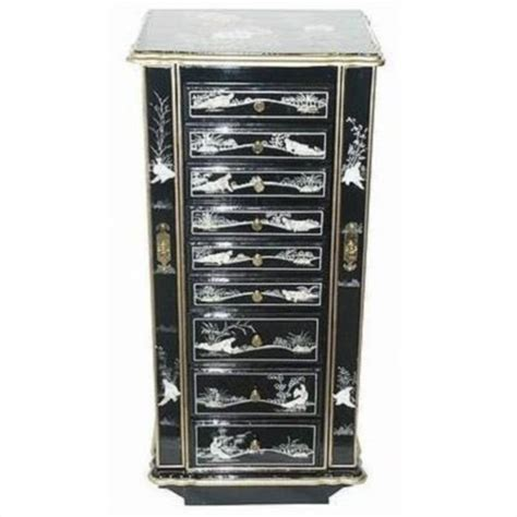 Jewelry Armoire Cabinet by Furniture Jewelry Cabinet In Rich 371834