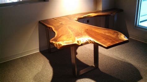 live edge desk with drawers live edge walnut desk search live edge wood