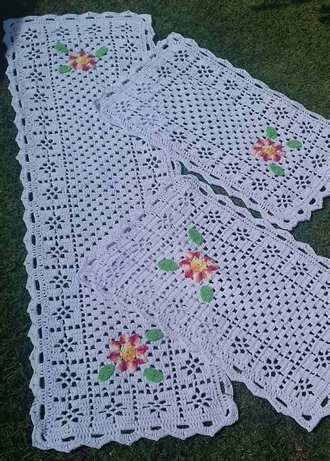 tapetes coloridos de croche jogos e amostra decoracao 422 melhores imagens de croche tapetes jogos de cozinha