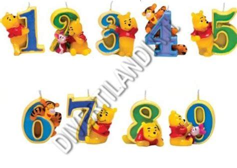 candele per compleanno particolari pooh