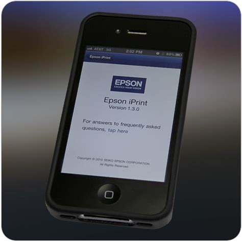 epson mobile printing epson releases mobile printing app for iphone