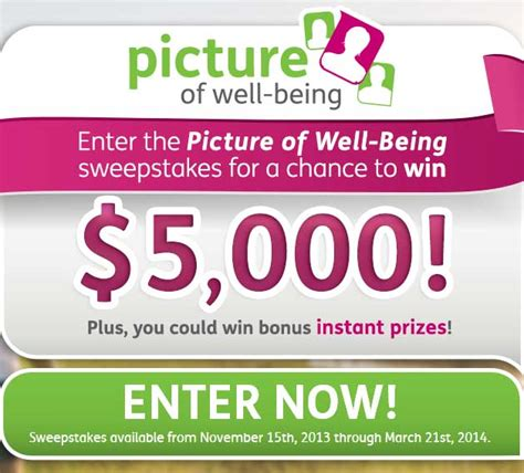 Win Free Prizes Instantly - win free money 5 000 picture of well being sweepstakes