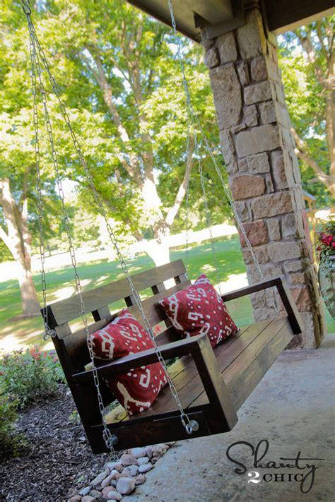 Porch Swing Diy Shanty 2 Chic