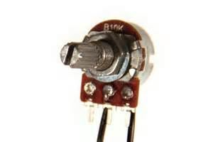 what is a variable resistor for wire a potentiometer as a variable resistor