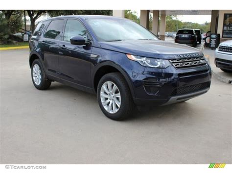 blue land rover discovery 2016 loire blue metallic land rover discovery sport se 4wd