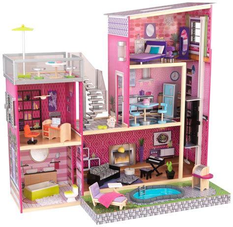 dollhouse za po narudžbi kidkraft dječja drvena kuća za lutke uptown