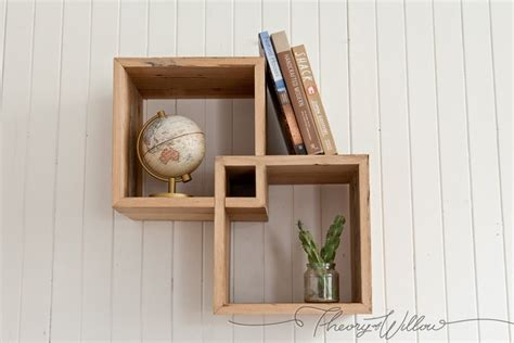 recycled timber shadow boxes shelves by theoryofwillow