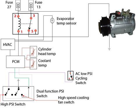 ford escape ac wiring diagram ricks  auto repair