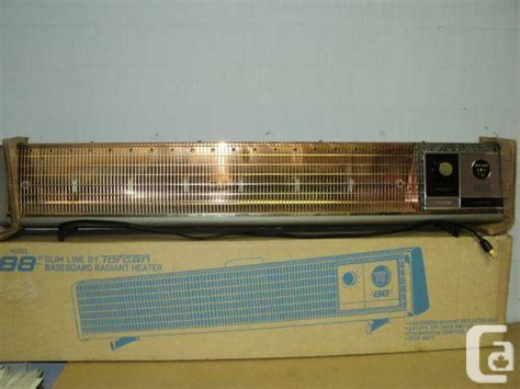 Slim Electric Baseboard Heaters Torcan Slim Line 88 Baseboard Forced Air Radiant Heater
