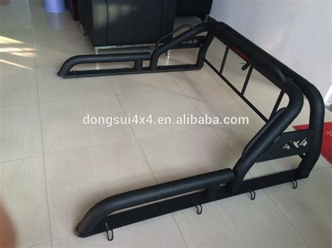 Rool Bar Hilux Ranger Triton Cabin Single Cabin black steel 4x4 roll bar offroad roll bar sports bar for vigo 2013 popular buy roll bar
