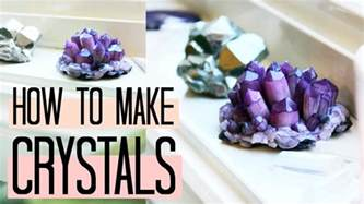 how to make clay at home diy amethyst crystals how to make easy clusters